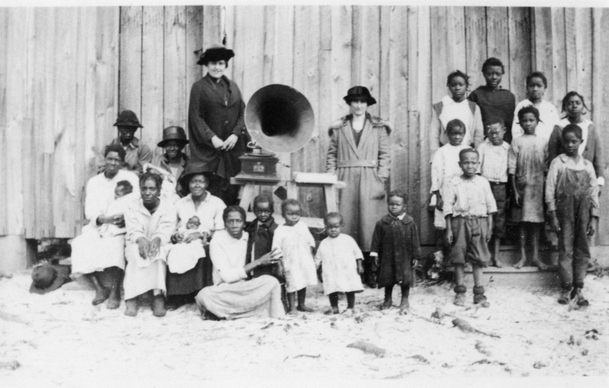 As we know from the play Thurgood—Segregated schools were the law of the land—especially in the south—Florida being no exception.  This photograph is of the Laurel Colored School, south of what is now the City of Sarasota. All ages and all classes were taught in a single room school house.  In Florida as in all southern states, school years for Black students were not to conflict with the agriculture industry so many schools were not in session when it was harvesting time.
